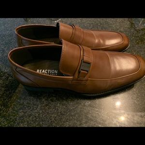 MENS Kenneth Cole Reaction Cognac Loafers